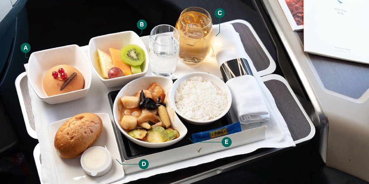 Inflight meals come with a variety of dishes – from a refreshing appetiser to a hearty main course to a comforting dessert. But you can eat them in any order you wish. Which course do you prefer to start with?  📸: IG@notatravelbloggr https://t.co/KPqpdTRl0w