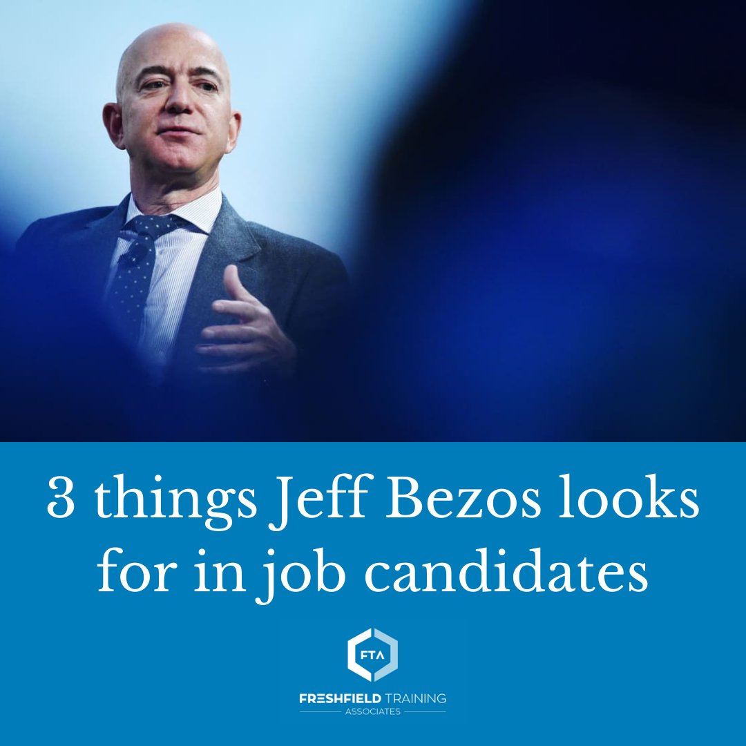 Bezos has been explicit for many years about what qualities he looks for in a new hire.  Read more: https://t.co/YgGXigJIS0 https://t.co/s4CXYg6oLv