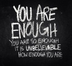 Do you believe that you are enough? You are. I am, too. #podcast #parents https://t.co/gsvtIsnS2W