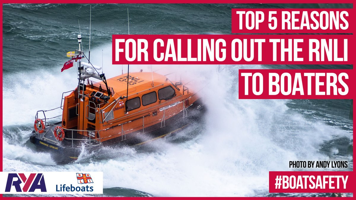 The @RNLI was called out 13,000+ times to boaters between 2017-19. Find out the top 5 reasons lifeboat crews were called & tips on how to avoid the need to call for help.  Watch the video now👉 https://t.co/M2lAhImjai https://t.co/z8VIDRzFja