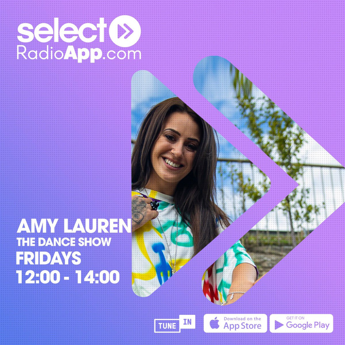 Just under an hour til I'm back on @SelectRadioApp 😻💙😻   Bigggg show lined up 🙌🙌 feat:  @OfficialGoody in the #GuestMix 🎉  Ibiza end of night bangers in #TheSwitchUpSection 🔥  A new number one Amy Lauren Loves 💙  And as always, loads of new music 🙌 https://t.co/ZltXIqTxbQ