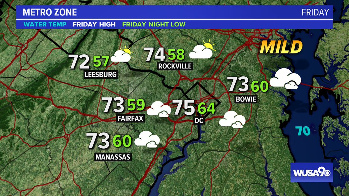 Here is your zone forecast. A lot of clouds but dry during the day. @PGPDNews @mcpnews @FairfaxCounty @LoudounCoGovt @PWCpoliceDept @wusa9 @HBWX @miriweather @chesterlampkin @greatdaywash #WFH #wusa9weather #weather #DC #dcwx #vawx #mdwx #GetUpDC https://t.co/22dBSKhDf4 https://t.co/StUQJmwLha