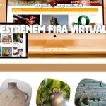 Image for the Tweet beginning: La Fira @Argillargentona Virtual ha