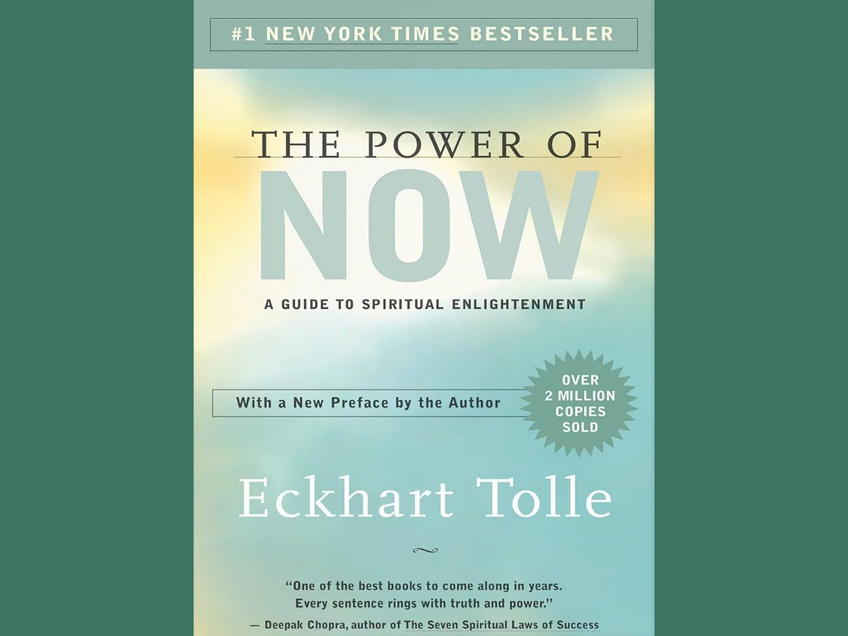Eckhart Tolle reminds us that we are not the voice in our head and provides tools to quiet its chatter and help us focus on the here and now. #MentalHealth #Anxiety https://t.co/dpzhyfVq0j https://t.co/7yAW9zCMqE