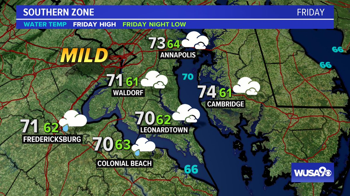 Here is your zone forecast. Some showers late but mainly overnight. @SOMDWXNews @CharlesCoMD @SpotsySchools @wusa9 @HBWX @miriweather @chesterlampkin #WFH #wusa9weather #weather #DC #dcwx #vawx #mdwx #GetUpDC  https://t.co/22dBSKhDf4 https://t.co/q3jdxGwCbt