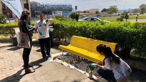 A Terrasini la terza panchina gialla siciliana contro la dipendenza da internet - https://t.co/P8an0Iw6xz #blogsicilianotizie