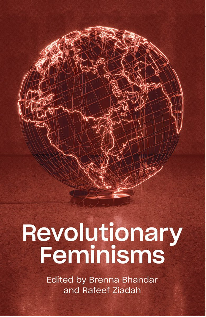 💥LIVE EVENT 💥  Join @RafeefZiadah & Brenna Bhandar (eds. of Revolutionary Feminisms), Ruth Wilson Gilmore & Vron Ware to discuss what resistance looks like, from anti-colonialism to prison abolition.   Host: @_TheWhitechapel  26th Nov 5pm UK   Register: https://t.co/swBiMRX80w https://t.co/4Cn9lnXICA