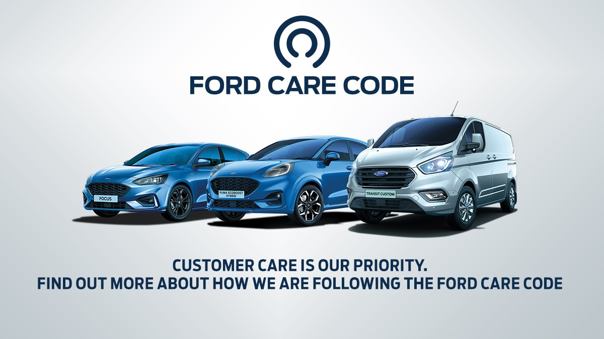 We have worked with Ford on the Ford Care Code that will be in operation to keep you as safe as possible from COVID-19 when you visit us. FIND OUT MORE BY TAPPING THIS LINK 🔻 bit.ly/Q2-2020-FORD-C…