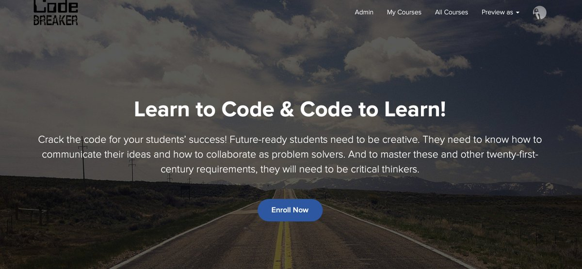 Hello, world! We want to celebrate educators for their tremendous efforts during this time. As a result, we are pleased to offer our #CodeBreaker Scratch course via @mraspinall for FREE for a limited time.   Tell your friends and register below!   https://t.co/CubCNaAQEL https://t.co/0SqKy7dY4R