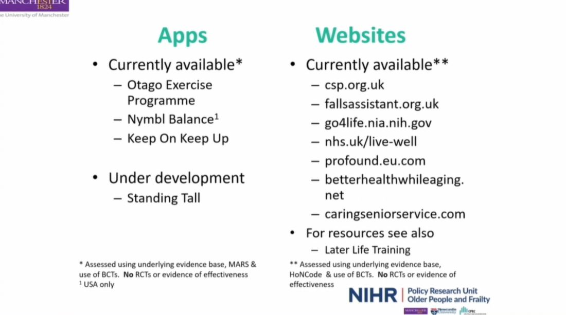 test Twitter Media - RT @GeriSoc: Recommended apps and websites to facilitate physical activity in older people #BGSconf https://t.co/qJciwqzTz1