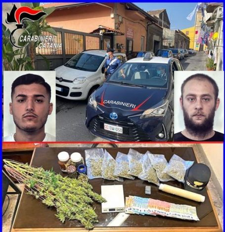 Controlli antidroga a San Cristoforo, scattano due arresti, sequestrati marijuana, cocaina e denaro - https://t.co/F3rYJrCjtS #blogsicilianotizie