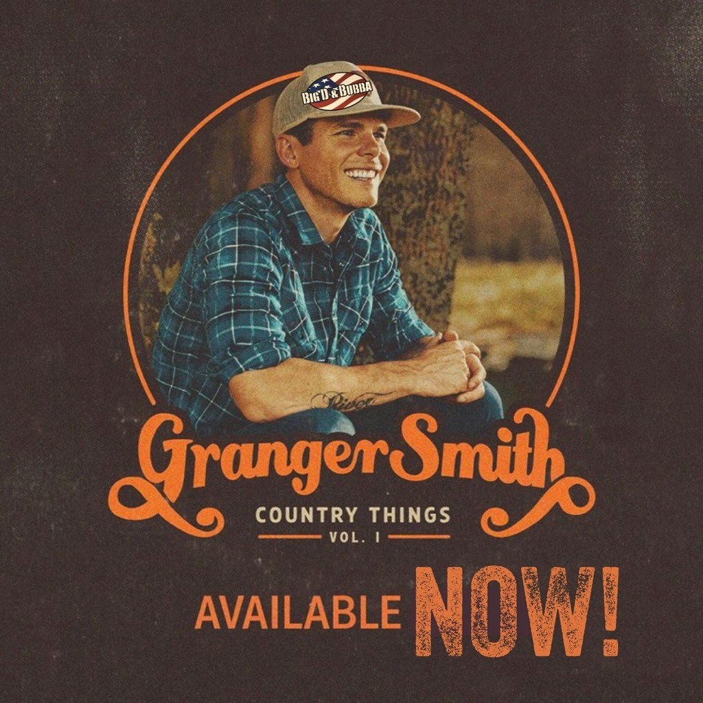 Wake Up Y'all!!! @GrangerSmith is on the show today and his awesome new album #CountryThings Vol.1 is out NOW! GET IT HERE: https://t.co/ISamg7RodR LISTEN TO THE RADIO ON OUR APP HERE: https://t.co/YeGNo1GW3b https://t.co/oPxZUTiU5d https://t.co/B6Uc9Y9cTA