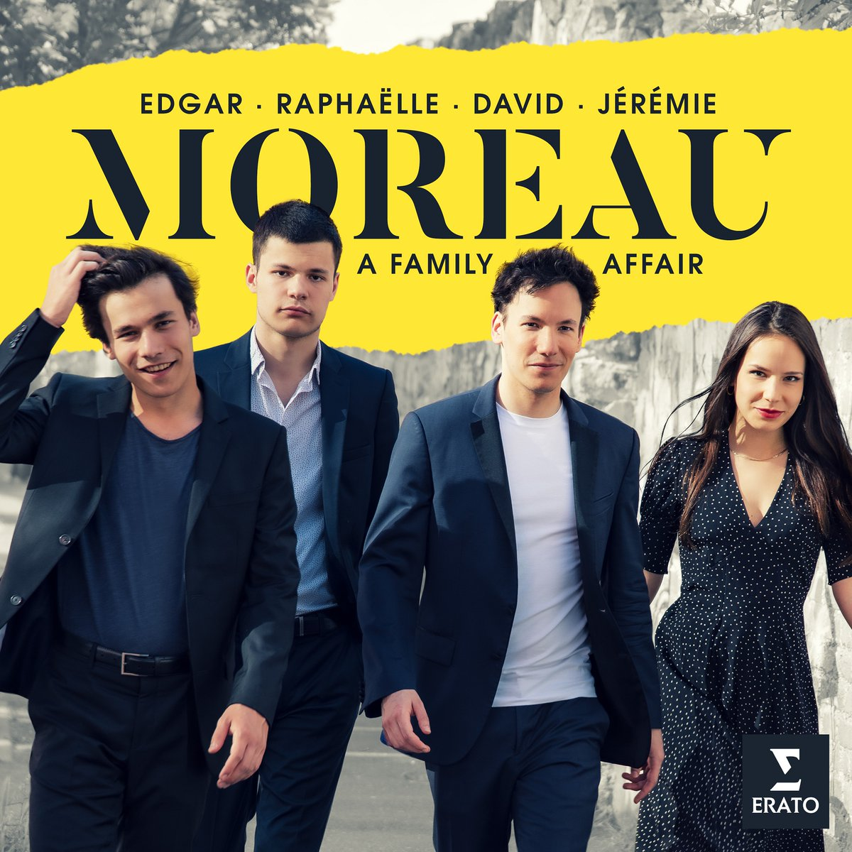 Talent runs in the family of young French cellist @EdgarMoreau: his next album introduces his three siblings, violinists Raphaëlle and David and pianist Jérémie, in a program of Dvořák and Korngold 🎻  Discover the first single now: https://t.co/cDqWHY2F14 https://t.co/Dvn3OtrcGg