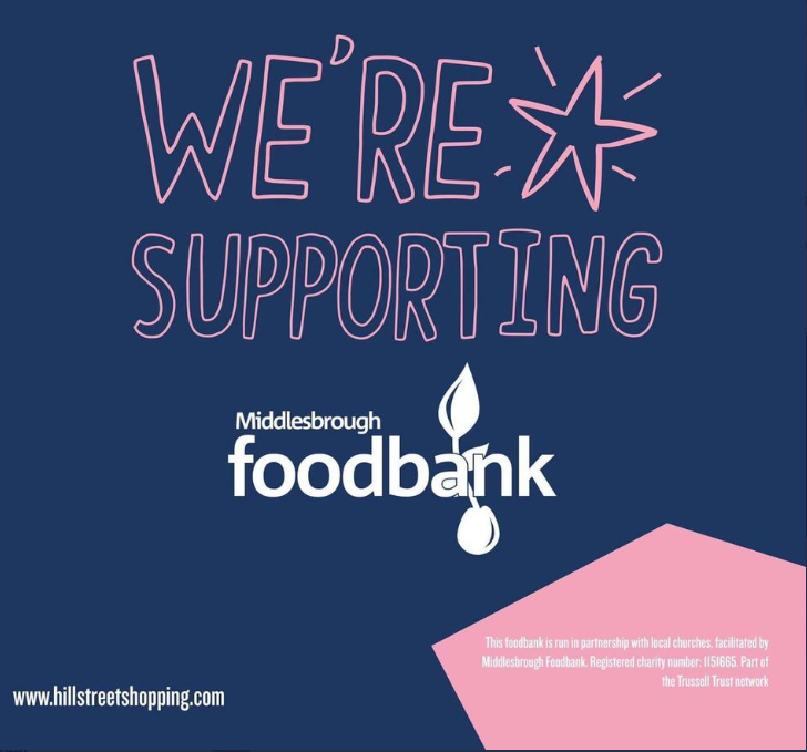 The @TrussellTrust is an anti-poverty charity supporting over 1,200 food bank centres across the UK 💫 Our food conation box is close to Primark & F.Hinds for customers to make a donation to this fantastic cause ❣️  #NewRiver #trusselltrust  #foodbank #inthistogether #thankyou https://t.co/gzYKEMB1PU