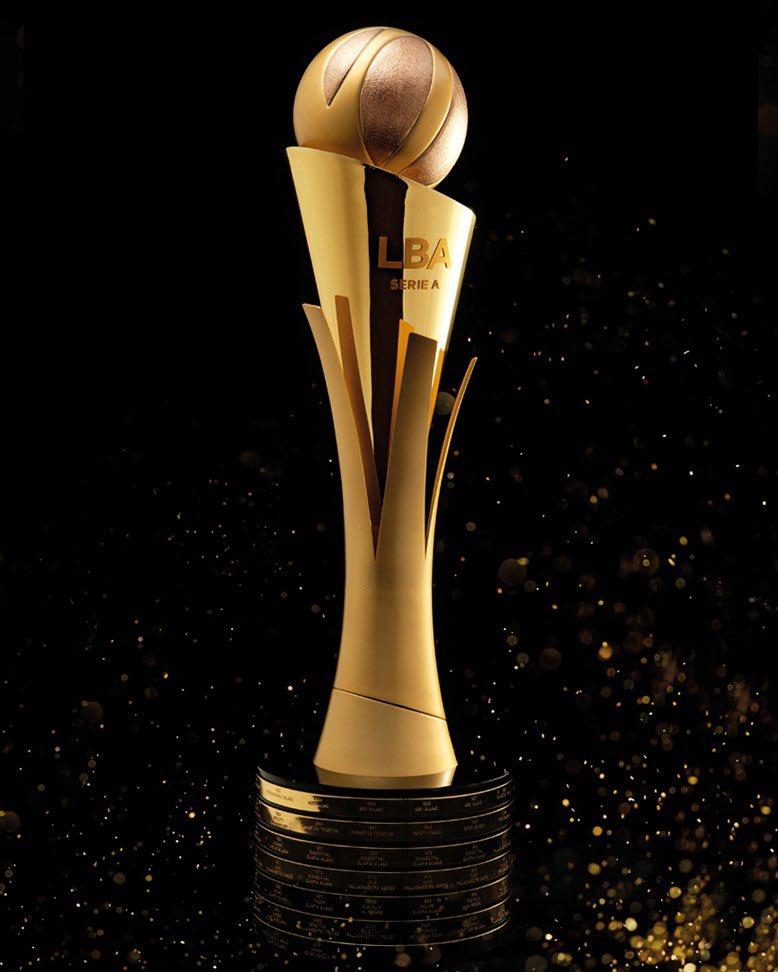 Il nuovo trofeo @LegaBasketA è davvero stupendo.. che diventi iconico. https://t.co/rWziAX4uc5