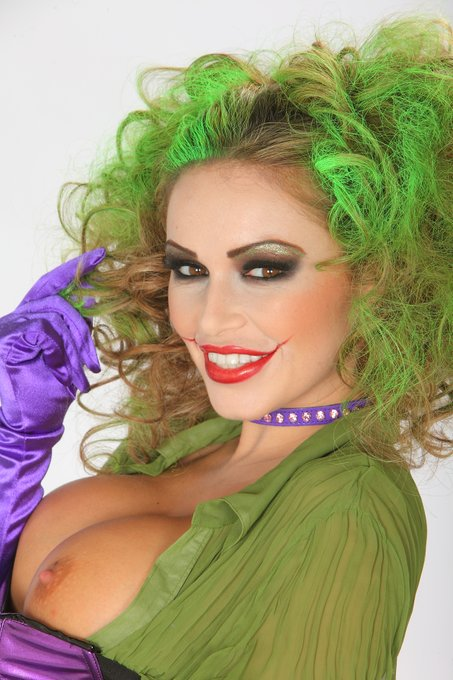 1 pic. How could we not celebrate #comicbookday with our very own #joker Gemma Massey!! @ladygemmamassey