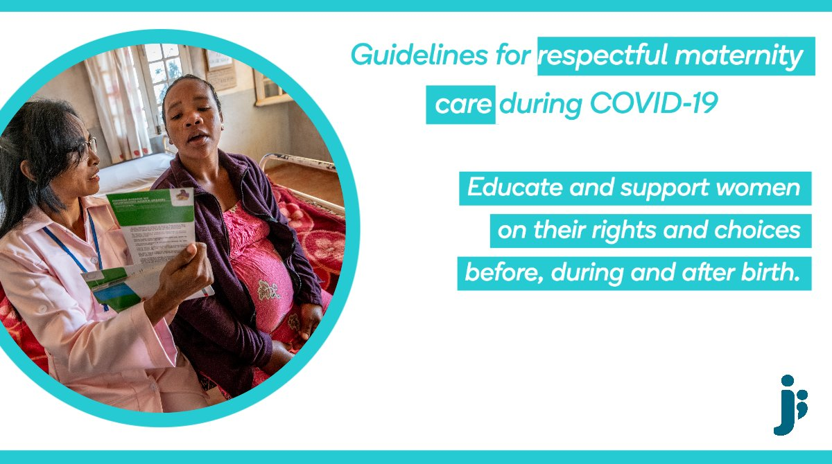 We don't have to choose one or the other! Laboring women deserve respect, privacy and dignity during childbirth—even with suspected #COVID19. Health workers deserve access to processes and #PPE to stay safe. Both are possible. Innovative solutions + resolve are needed. https://t.co/ACXsD4G3VL