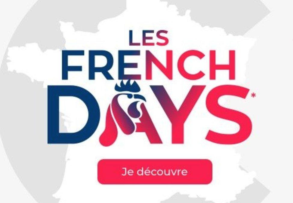 #BonPlan On vous a listé toutes les belles affaires de ces French Days. Découvrez notre sélection ici >> https://t.co/WkscjerWpb #FrenchDays https://t.co/v0Bd8QjzBY