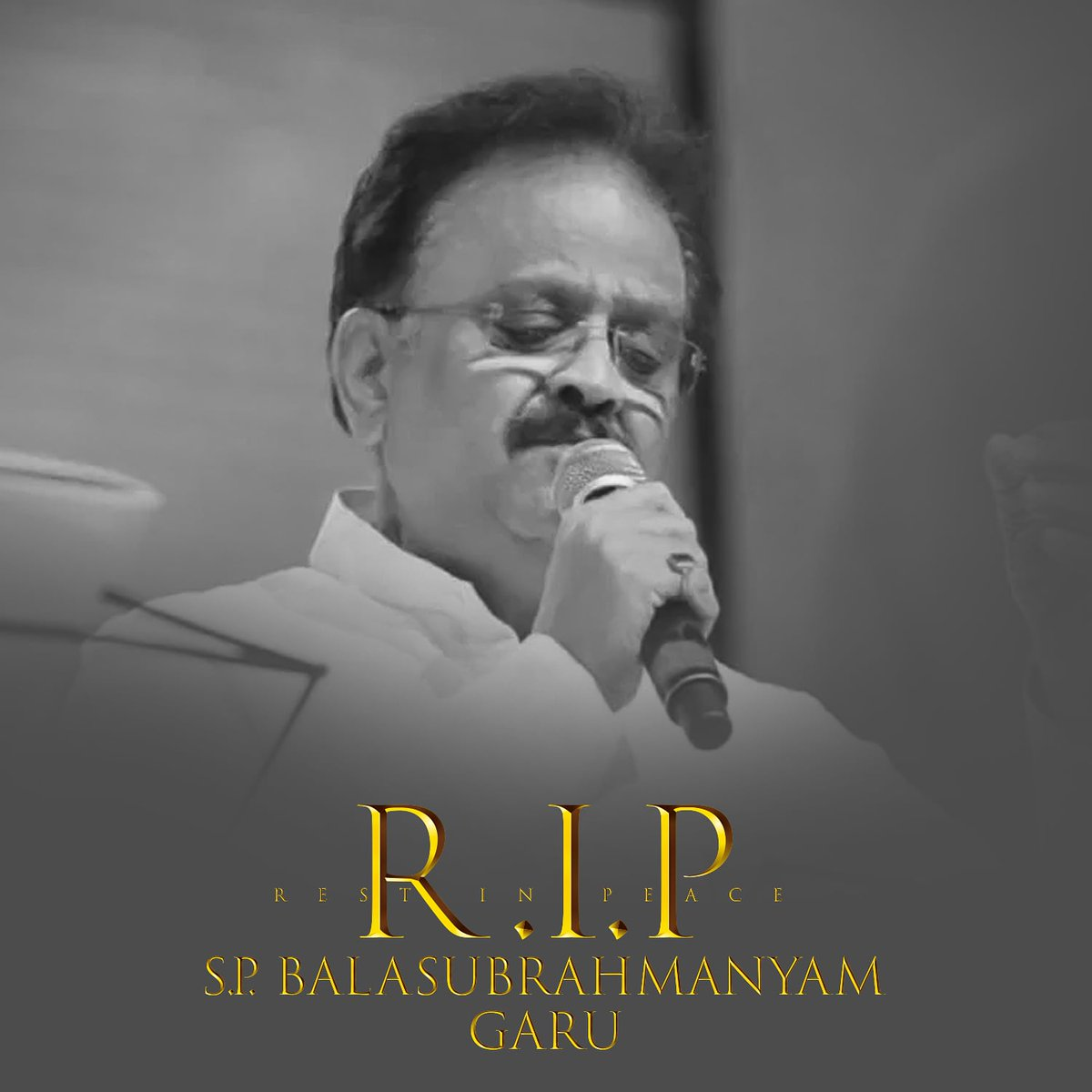 Saddened to hear about demise of Shri SP Balasubrahmanyam garu. India has lost one of its most legendary voices. Condolences to the family, loved ones & millions of fans world over.  #RIPSPB #SPBalasubrahmanyam https://t.co/jfnr0YogC8