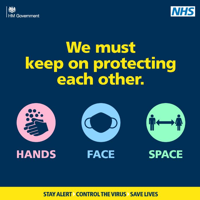 All our vehicles have the #nhsTrackandTrace QR code on them. Please scan this code as you get on the bus if you're able to. Remember:  Hands #WashYourHands Face #facecoverings Space #SocialDistancing https://t.co/jzn9CsdECg