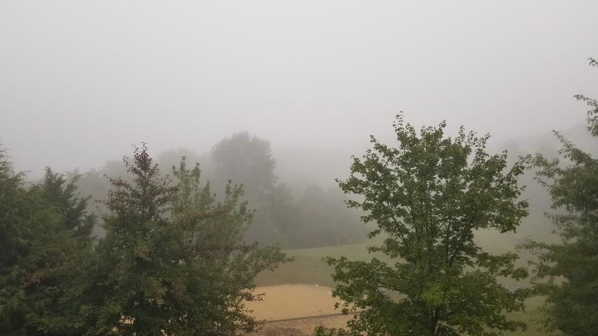 A bit of fog in Clarksburg, MD just before 8 am. #WUSA9Weather #GetUpDC @wusa9 @TenaciousTopper @MiriWeather @chesterlampkin @ChrisClimate @AnnieYuTV @TonyPerkinsFMTV @reesewaters @Marcella_Rob @capitalweather @NWS_BaltWash https://t.co/VEavsNmQnF