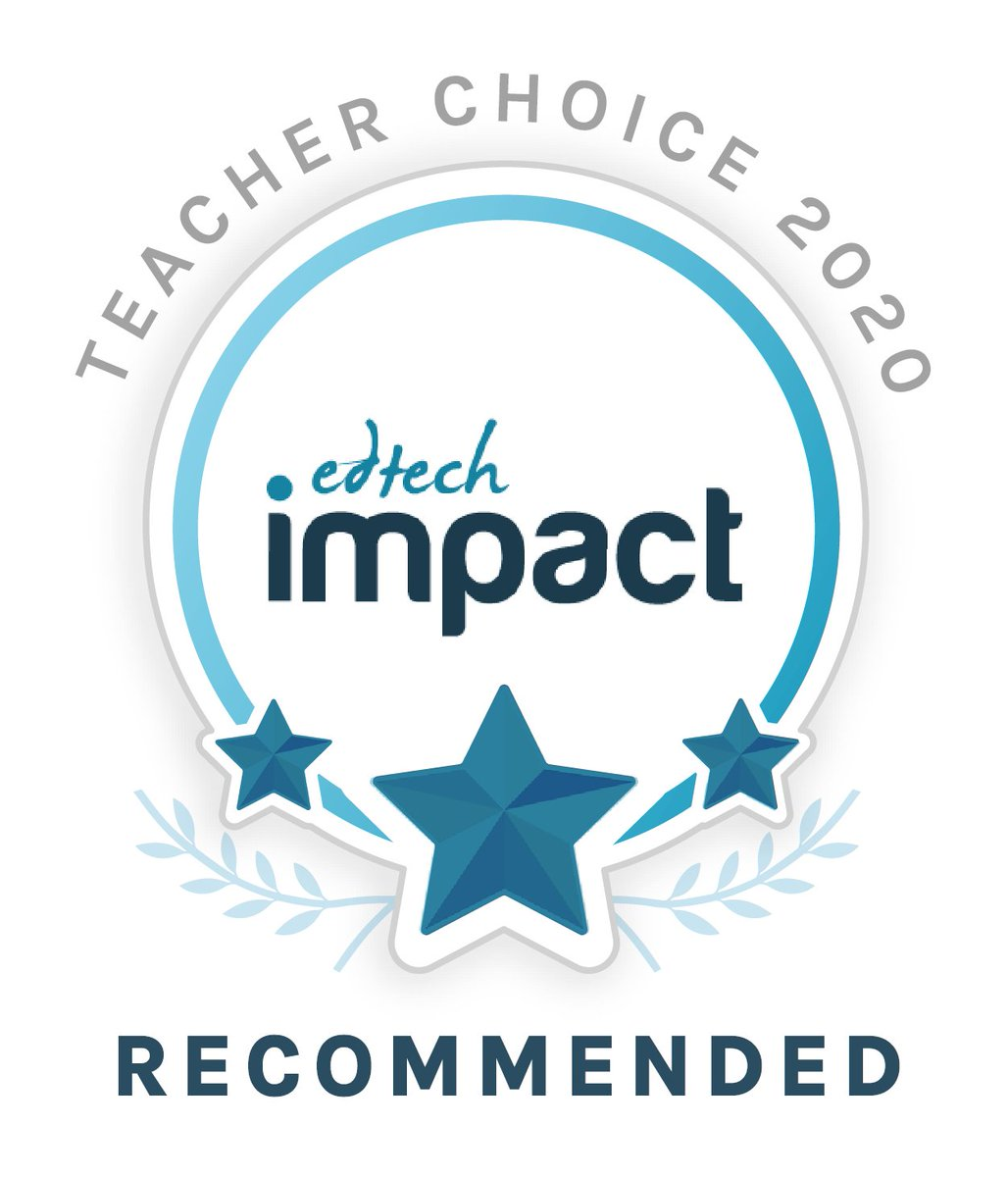 We're thrilled to announce we've been named in @TheEdtechImpact's 2020 Teacher Choice awards!🤗🌠🏄  Special THANK YOU to everyone for your amazing support and reviews! The #WakeletWave wouldn't be the same without you!💙  👉https://t.co/SjmgTAcynh https://t.co/3Nk5erv9H3