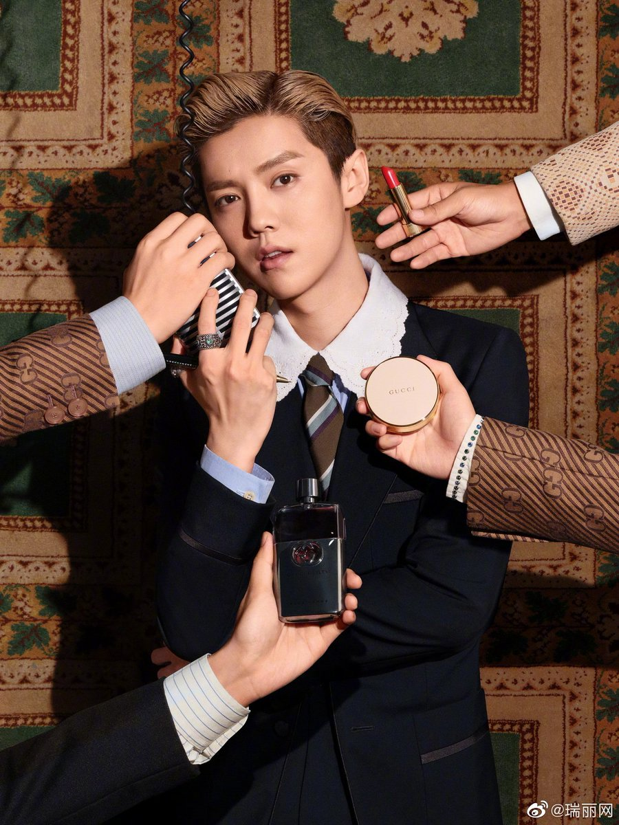 Congratulations 🎉 to #LuHan as brand spokesperson for GUCCI Beauty Makeup Series😍  ... waiting for long time, finally yeahhhh! 🌞✨✨✨  #鹿晗 https://t.co/FFzvVp2rCI
