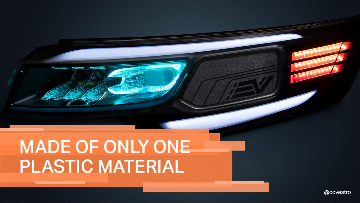 A headlight concept made of only one single plastic material? 😮 Yes, you have read correctly. This #polycarbonate provides both functional and aesthetic benefits and also simplifies the recycling process. Learn more about the vehicle lighting of tomorrow: https://t.co/ayj3dtCcSE https://t.co/btOLe4pFsT