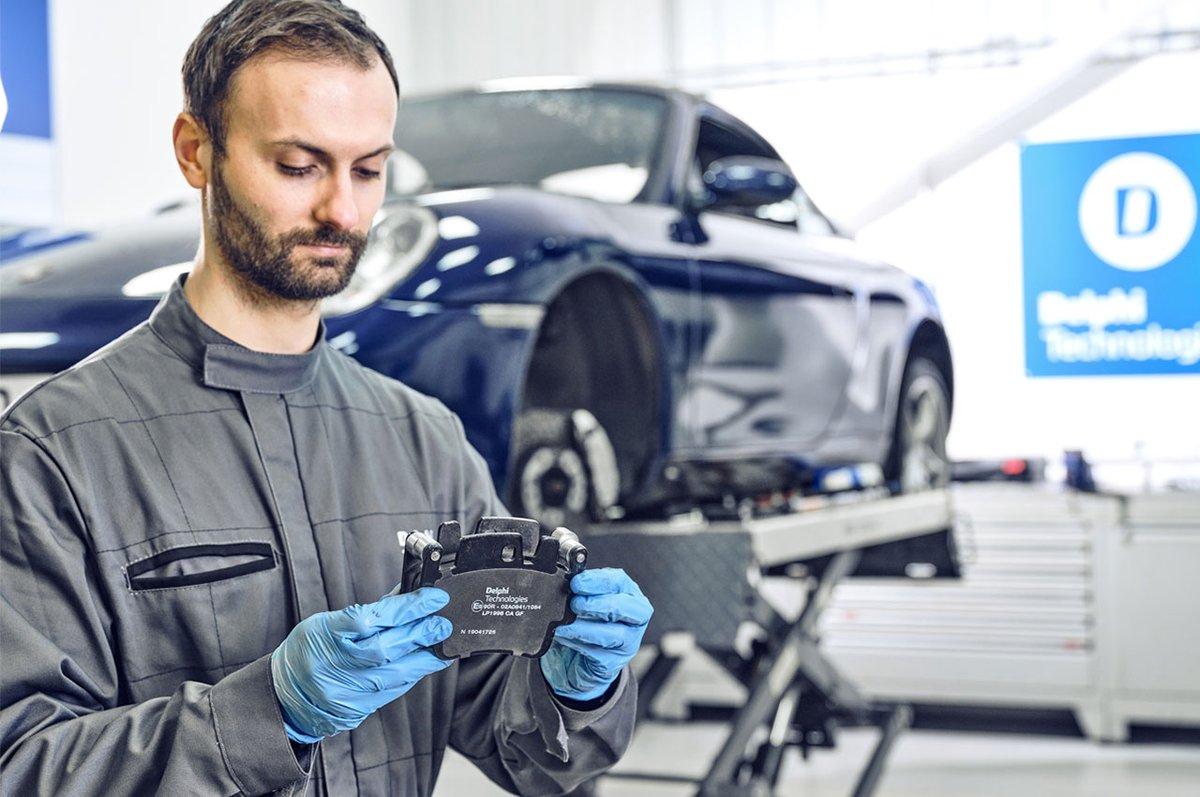 Satış sonrası fren programını genişletmeye devam eden Delphi Technologies, sekiz fren balatasından oluşan yeni serisini satışa sundu.   Detaylar için https://t.co/CtVdhTqhbs  #carmedya #delphi #delphitechnologies #otomotiv #car #otomobil #fren @delphitech https://t.co/xYiS6VCA2p