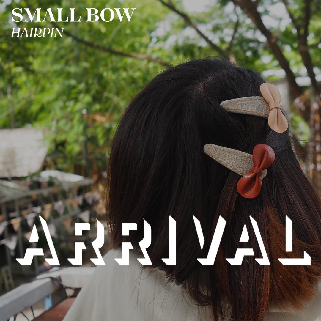 กิ๊บติดผมโบว์เล็ก ฿115  โบว์เล็กผลิตจากหนังแท้ตัดเย็บด้วยมือ ใส่ได้ในทุก ๆ วัน ไม่ว่าจะเด็กหรือผู้ใหญ่  #small #bow #hairpin #onenimman #chiangmai #chiangmaitravel #thailand #thailandtravel #goodvibes #치앙마이 #치앙마이여행 #태국 #태국여행 #清邁 #清迈 #泰國 https://t.co/VfWC8PiCBC