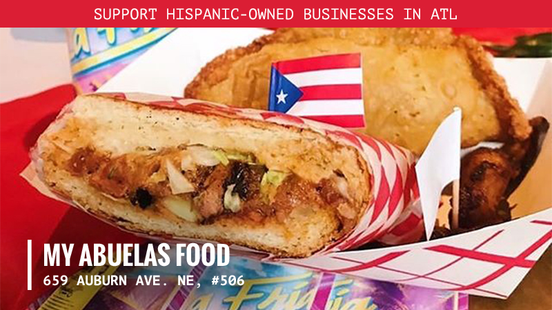 There's no cooking like grandma's cooking, and Mi Abuelas Food delivers! 🥘  Inspired by the owner's Luis' abuela, this eatery is all about authentic Puerto Rican cuisine. With #vegan and traditional options, there's something delicious for everyone! #HispanicHeritageMonth https://t.co/IniEKTdIQ0