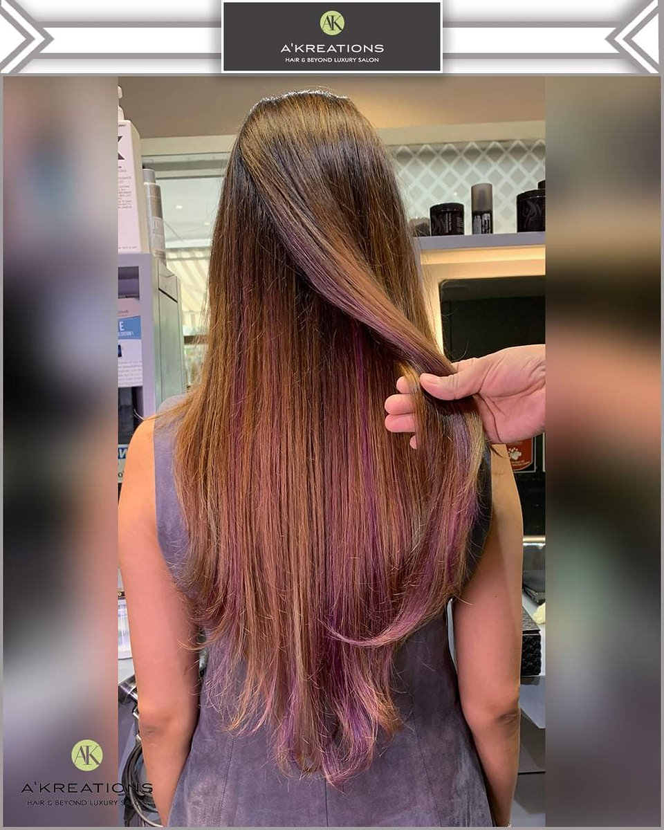 Babylights & Lavender Placement!  Color by Creative Art Director Meitei NM. At @AKreationsIndia.  To book prior appointments, contact us on 7208999911 or 8976228999.  #LuxurySalon #AkreationsIndia #Safety #Precautions #Covid-19 #Hygiene #FaceMask #ClientSafety #CoronaPrecautions https://t.co/SOFhmmnvcF