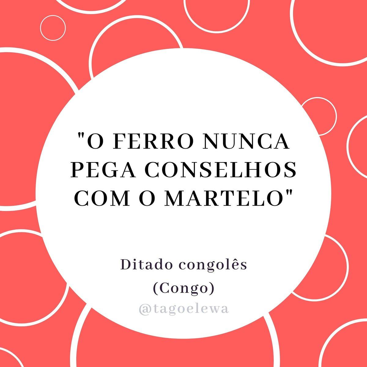 _____________________ #provérbiosdesexta #proverbs #provérbios #ditados #ditopopular #africanproverb #africa #afrika #Congo #Kongo #sayings #africanpeople #africanculture https://t.co/sjaxU9awEB