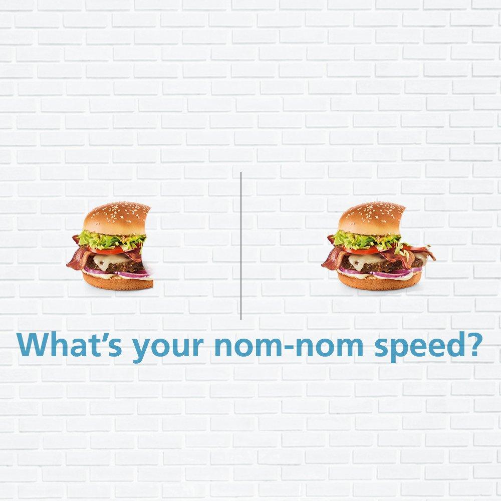 Tag somebody whose nom-nom speed challenges your nom-nom speed! #TwoTypesOfPeople #ThisOrThat https://t.co/u8kSljZwjj