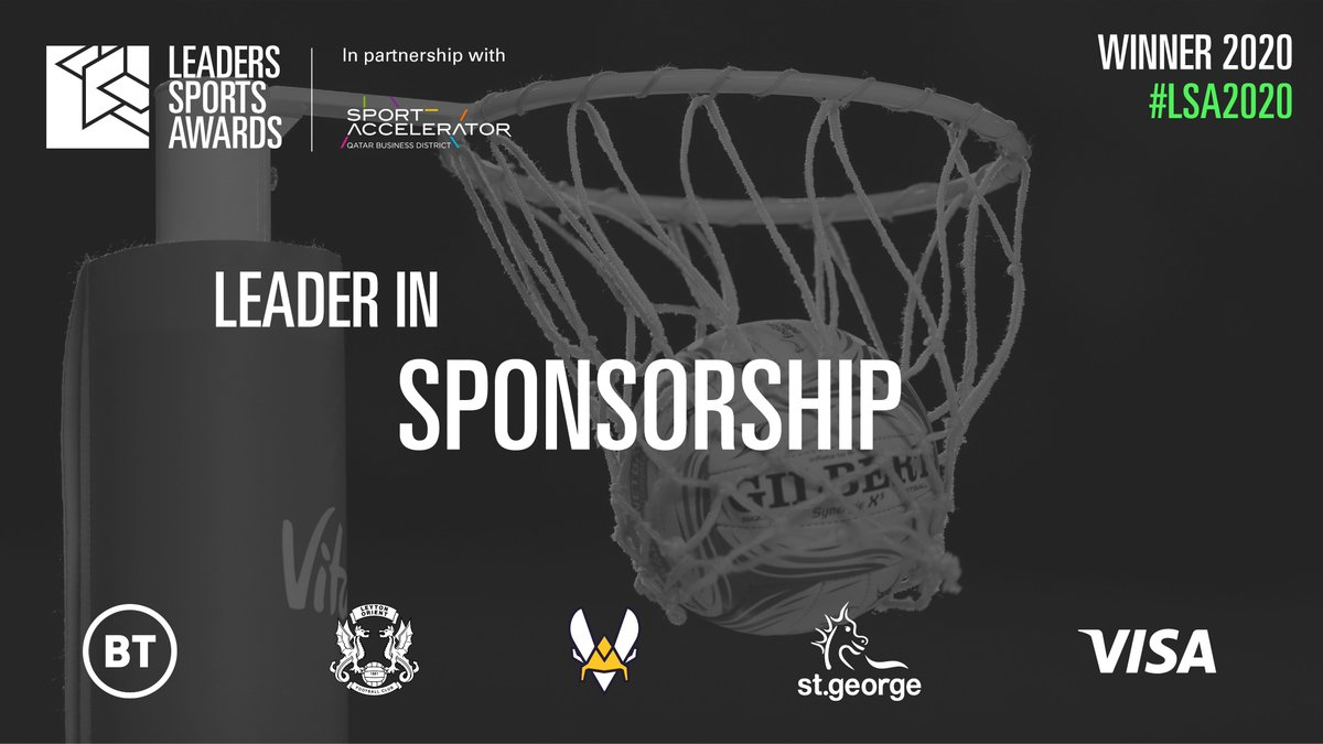 Lets kick off that Friday feeling with announcing the #LSA2020 Leaders in Sponsorship. @bt_uk, @leytonorientfc, @TeamVitality & @adidas, @StGeorgeBank & @thegembagroup and @Visa all came out on top. View their winning work here: bit.ly/2RU7tlK