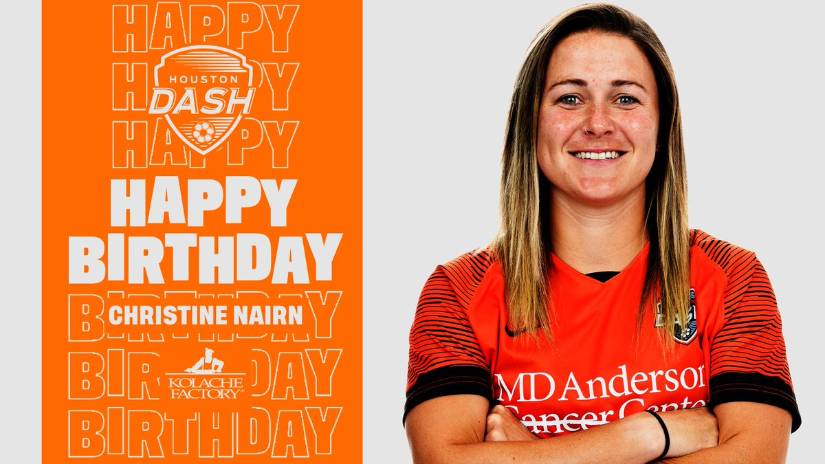 Happy birthday, @NairnChristine! 🥳