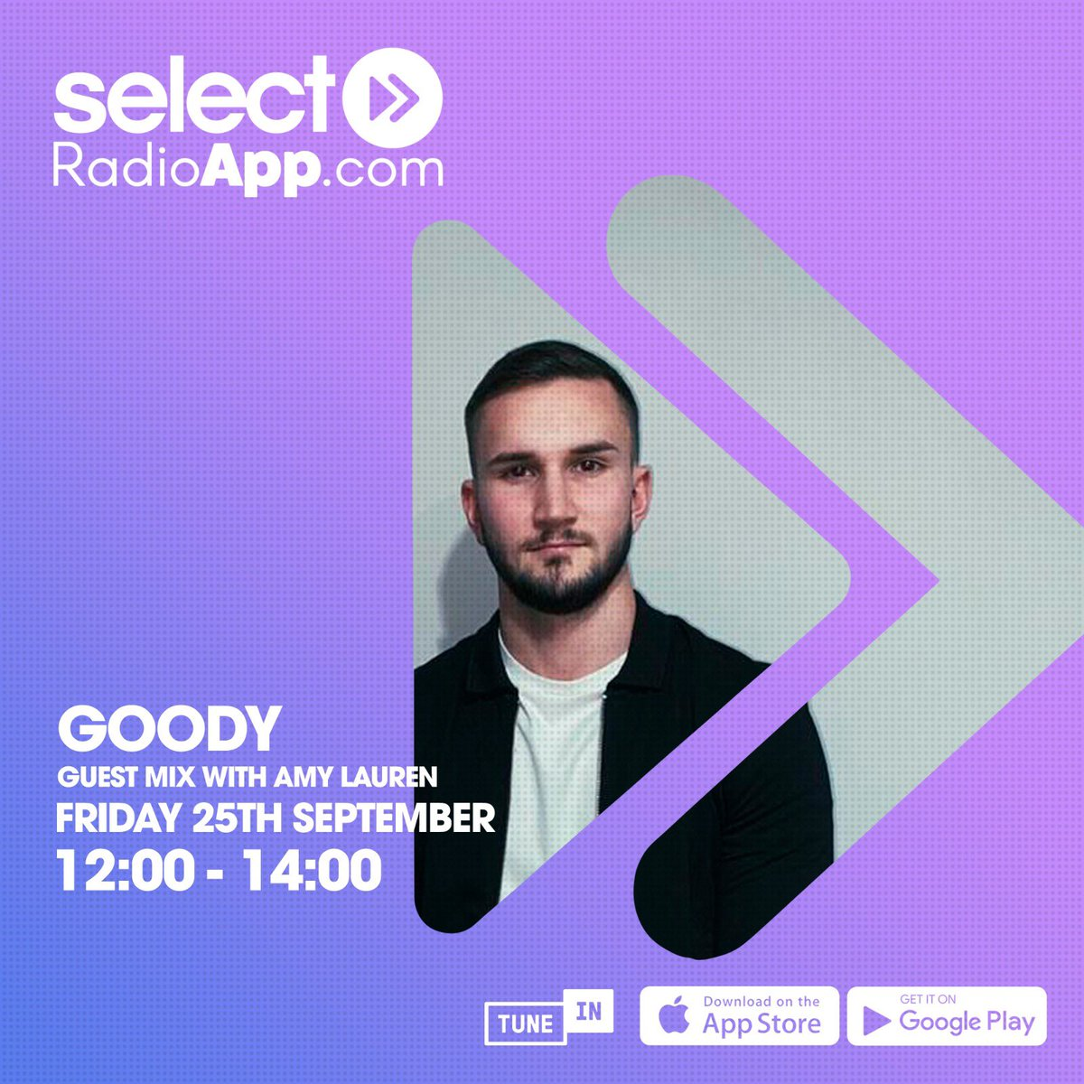 #np @saffronstone_ @sambeachdj - own thing in @OfficialGoody #GuestMix on #TheDanceShow on @SelectRadioApp https://t.co/KpWy5z2QNS