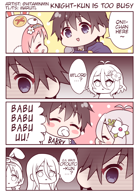 "Being Yuuki is tough ""Knight-kun is too busy"" Princess Connect 4koma by Hitami #PrincessConnect #プリコネR https://t.co/0eoDTCOXbj https://t.co/azWUCk36HU"