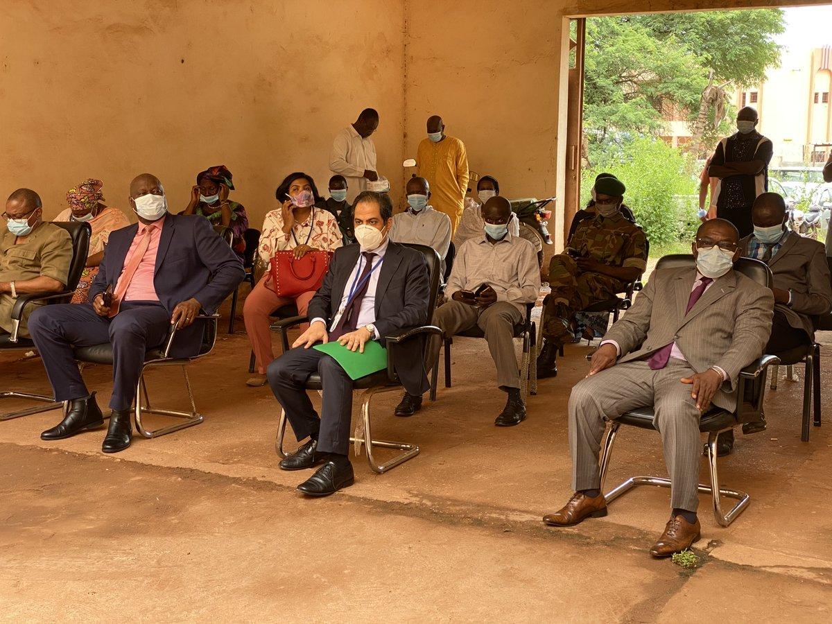 D'un montant de plus de 21 millions de FCFA, cet appui est financé par le budget de la MINUSMA et mis en œuvre par sa Section des Affaires judiciaires et pénitentiaires. Ce soutien concerne 21 tribunaux ainsi que leurs services judiciaires et administratifs respectifs. #Mali 🇲🇱 https://t.co/kkszV0fOVs
