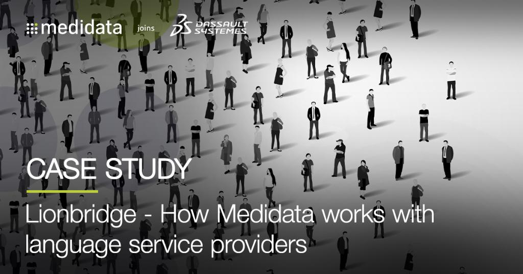 Medidata partners w/ carefully vetted language service providers to facilitate the localization, electronic implementation & functionality testing of questionnaires & surveys used in #clinicaltrials. Find out more in this #casestudy with @Lionbridge: https://t.co/pDn3Le4Nuq https://t.co/eDiqhLasxR