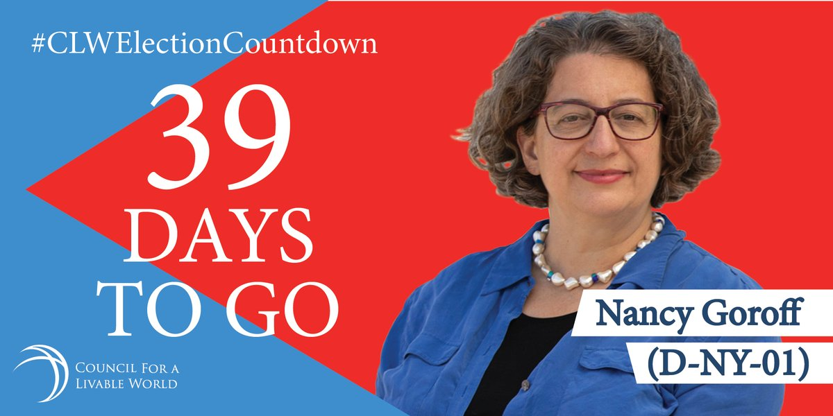 House endorsee @ngoroff understands that Pentagon spending is too high, and she knows that the U.S. can and should make smart, effective reductions in military spending. The Council is proud to support her. Make a contribution today: https://t.co/gh1fSsGbRS #CLWElectionCountdown https://t.co/iqXBrEkZ18