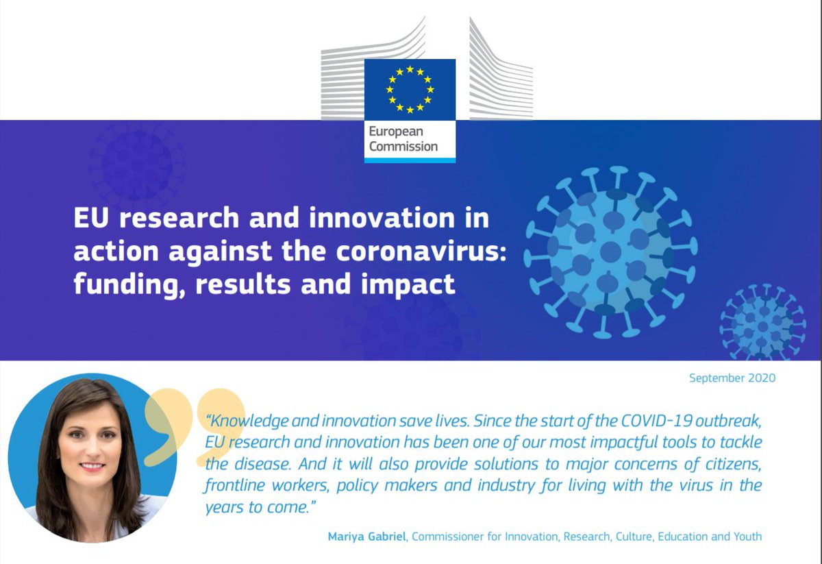 We have invested €459 million so far in 2020 for R&I in #COVID19 with 103 new projects. Check this 🆕 factsheet to know more👉https://t.co/9vmNcKJ1BI Let's remain #UnitedAgainstCoronavirus! https://t.co/Sy8hdHGx0r