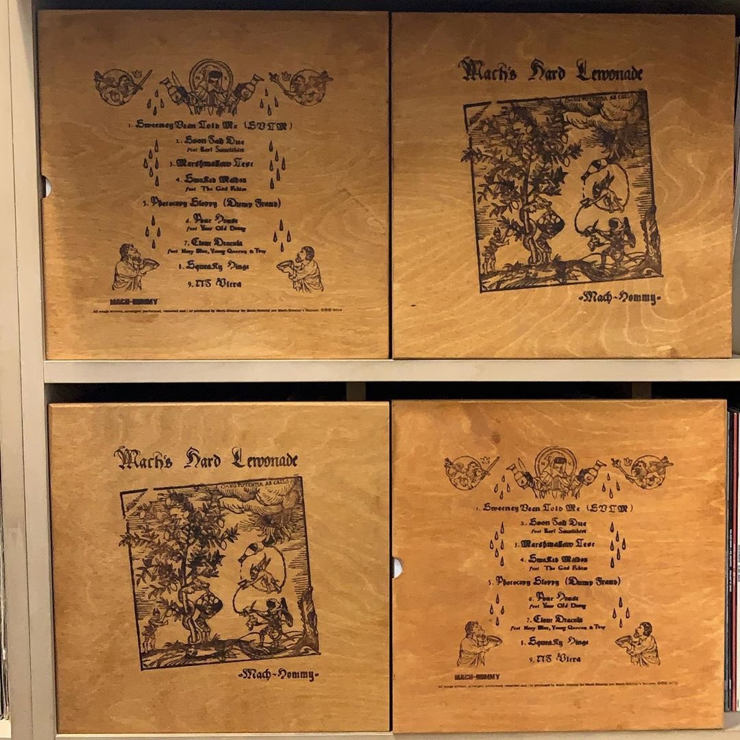 Mach's Hard Lemonade / Mach Hommy 🍋🍋🍋  #MACHHOMMY #HIPHOP #VINYL #COLLECTION #OBISTRIP  #Rap #Beats #Music #Art #Culture #VinylCollection #VinylCollector #RecordCollection #RecordCollector #VinylCollectionPost #VinylRecord #turntable #vinylrecords #dj #vinyladdict #goodmusic https://t.co/uGEOhljjHa