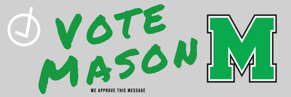 VOTE MASON: Go this link to vote for Mason athletic teams for @ENQSports team/athlete of the week ▶️ https://t.co/2xGbKU3nsc @MasonCometsFB @Mason_W_Soccer @Mason_M_Soccer @MasonGirlsGolf @CoachCastner https://t.co/pXqEY6xv0D