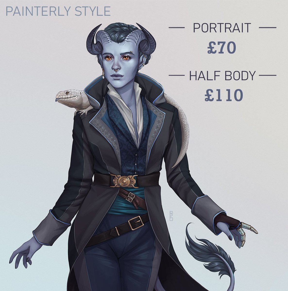 My general commissions are open! Slots are very limited, but if you are interested please send me a DM or email to:  rdentonart@gmail.com. More info can be found at the link below!  Thank you all so much for the support so far! 💚  #art #dnd #dnd5e #ttrpg https://t.co/kM1kzk5nDJ