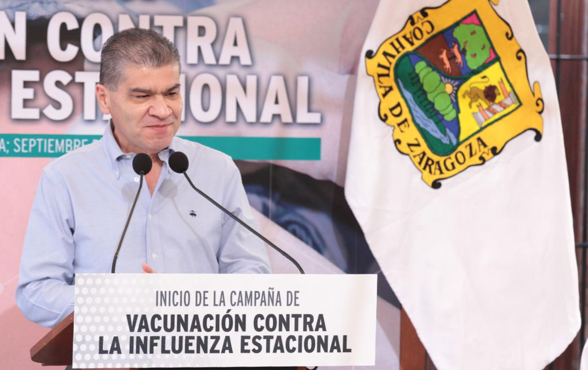 Coahuila inicia campaña estatal de vacunación contra influenza estacional  https://t.co/u6Jwopovt0 #Coahuia #Salud https://t.co/ZPruNLl6vR