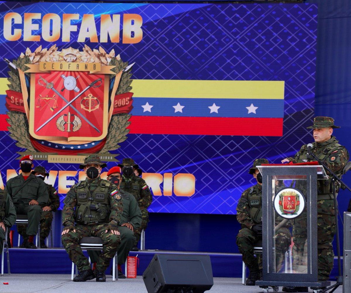 🗣➡️ Nuestra patria no se doblega ante nación alguna, la Fuerza Armada Nacional Bolivariana, somos leales a toda prueba, resaltó, nuestro Comandante Estratégico Operacional de la #FANB AJ. @CeballosIchaso  #VenezuelaGarantiaDeDDH #25Sep https://t.co/DWI6JF4mwy