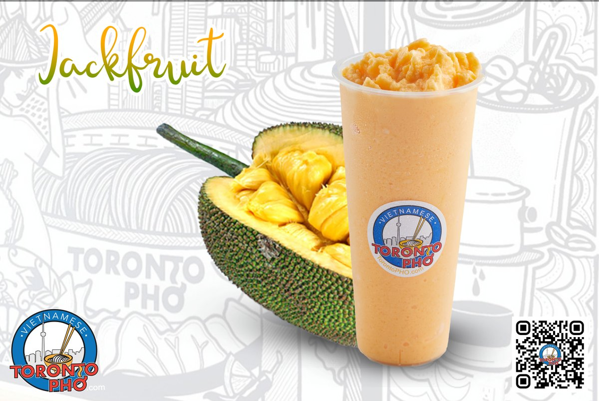 Jackfruit Smoothies (MILK BASE)  Order online: https://t.co/9BJ57pIZTi  #Jackfruit #JackfruitSmoothies #Smoothies #BubbleMilkTea #VietnameseCuisine #VietnameseCuisineToronto #Toronto #TorontoPHO #PHO #TorontoFood #VietnameseCooking #TorontoVietnameserestaurants https://t.co/QNklVijrsh