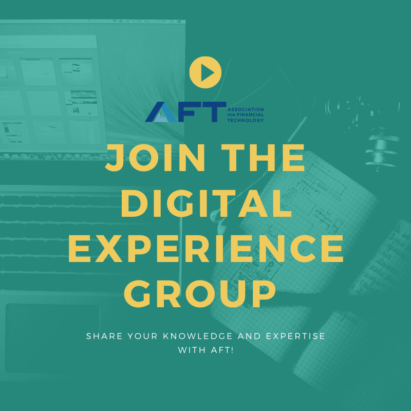 Looking for a deeper role within #AFT? Join the digital experience group and help bring #fintech innovations to the market faster! See more information here: https://t.co/CJqYjB8rDi https://t.co/KiFh7TyoUH