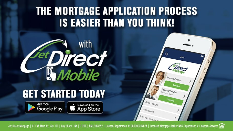 Streamline the mortgage process with Jet Direct Mobile. Calculate mortgage options, scan documents, and even apply for a loan, all directly on your phone!  Get started today: https://t.co/ObfO8WFQ2f  #jetdirectmobile #mortgages #homeloan #realestate #fintech #mortgagerates https://t.co/RIEkJu4JR7